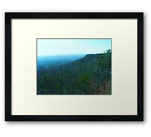 Cheaha Mountain State Park Framed Print