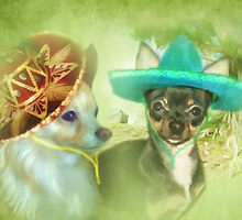 Little Sombrero's ....Chihuahua by Trudi's Images