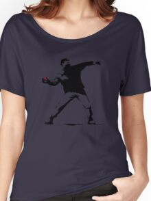 Pokeball Banksy Women's Relaxed Fit T-Shirt