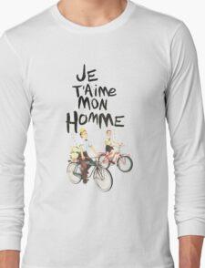 Je T'aime Mon Homme Long Sleeve T-Shirt
