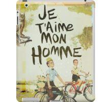 Je T'aime Mon Homme iPad Case/Skin