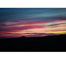 Shepherd's Delight Sunset Photographic Print