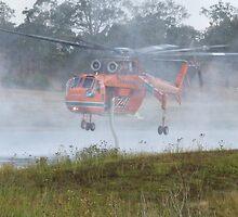 Erickson Air-Crane - Isabelle in the mist by DashTravels