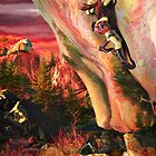 survivalists climbing by rinthcog
