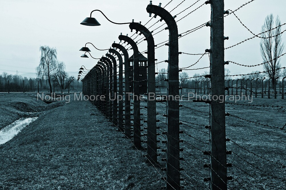 Auschwitz concentration camp, Auschwitz II-Birkenau by Noel Moore Up The Banner Photography