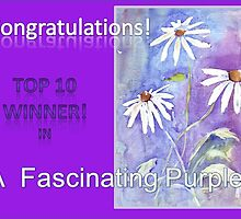 Banner TOP 10 Winner - 'A Fascinating Purple' by Maree  Clarkson