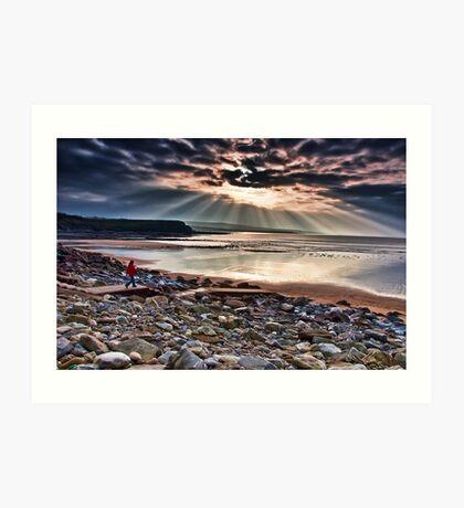 Lahinch Beach, County Clare, Ireland Art Print