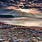Lahinch Beach, County Clare, Ireland by Noel Moore Up The Banner Photography