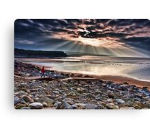 Lahinch Beach, County Clare, Ireland Canvas Print