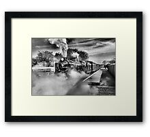 Going Loco Framed Print