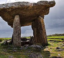 Dolmen, The Burren, County Clare, Ireland by upthebanner