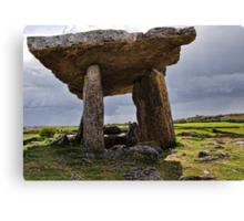 Dolmen, The Burren, County Clare, Ireland Canvas Print