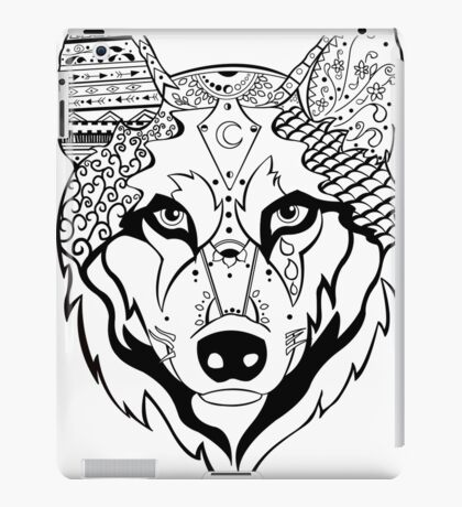 Sonya Tribal Wolf  iPad Case/Skin