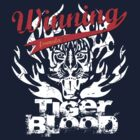 Winning Formula - Tiger Blood - White Tiger by wittytees
