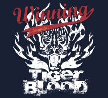 Winning Formula - Tiger Blood - White Tiger T-Shirt