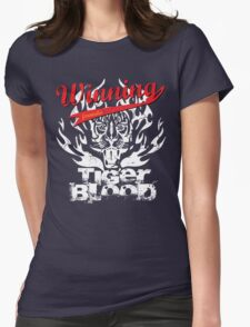 Winning Formula - Tiger Blood - White Tiger Womens Fitted T-Shirt