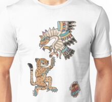 Ocelot and Eagle Unisex T-Shirt