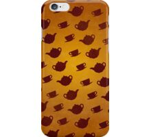 March Hare Teapots iPhone Case/Skin