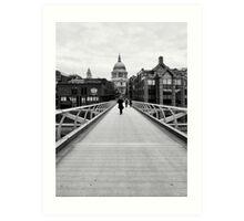 The Wibbly Wobbly Bridge Art Print