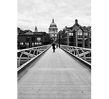 The Wibbly Wobbly Bridge Photographic Print
