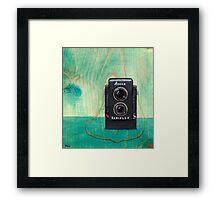 Ansco Camera Painting Framed Print