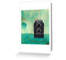 Ansco Camera Painting Greeting Card