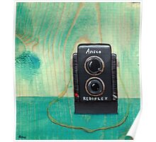 Ansco Camera Painting Poster