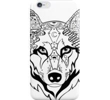 Sonya Tribal Wolf  iPhone Case/Skin