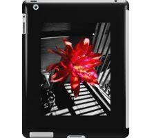 Cactus Flower Behind Bars iPad Case/Skin