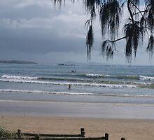 Breakfast at Woolgoolga Beach by 3Cavaliers