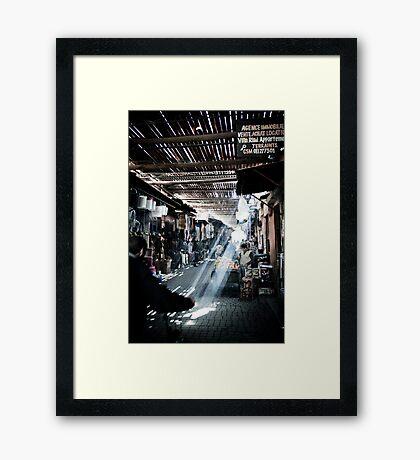 Breakthrough Framed Print