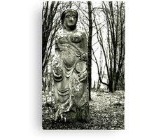 Persephone Hides On Bennachie Canvas Print