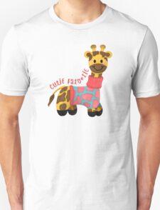Cutie Patootie Giraffe T-Shirt