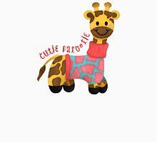 Cutie Patootie Giraffe Unisex T-Shirt