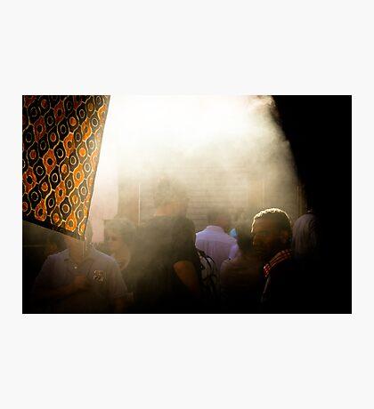 L'Arabe et la fumée Photographic Print