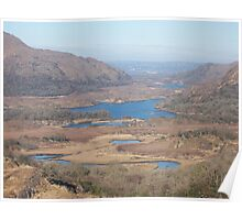Ladys View, County Kerry, Eire Poster