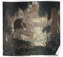 Maurice de Becque Livre de la jungle, p87 Poster