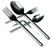 Crossing Cutlery by Bob Daalder