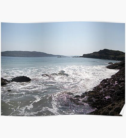 Kenmare bay, County Kerry, Eire Poster