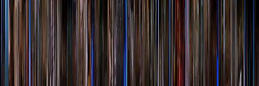 Moviebarcode: Three Colours: Blue (1993) by moviebarcode