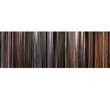 Moviebarcode: Three Colours: White (1994) Photographic Print