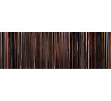 Moviebarcode: Three Colours: Red (1994) Photographic Print