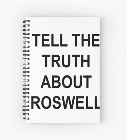 TELL THE TRUTH Spiral Notebook