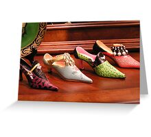 Women's Shoes Greeting Card