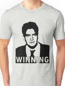 "Charlie Sheen ""Winning"" 2 Unisex T-Shirt"