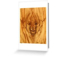 Wood Nymph Greeting Card
