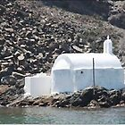 Church By The Sea - Santorini by Christine &quot;Xine&quot; Segalas