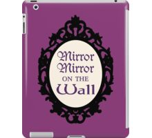 Once Upon a Time Mirror Mirror iPad Case/Skin