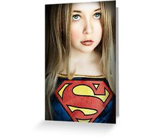 SUPER GIRL!!! Greeting Card