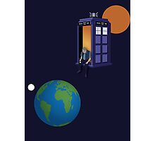 Doctor Who - A WhoView Photographic Print